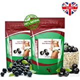 120 x Nutriodol 100% Pure Acai Berry Tablets 2000mg - High in anti-oxidants to help you cleanse your body. Helps increase your metabolism for extra fat burning and are rich in B-Complex Vitamins, Vitamin K & Niacin, a great source of fibre & a good source of healthy omega 3, 6 & 9 oils. Suitable for Vegetarians & Vegans with Nutriodol 100% Money-Back Guarantee!!! FREE FIRST CLASS SHIPPING