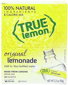 True Lemon Lemonade Bulk Pack, Original, 30 Count, 3.2 Ounce