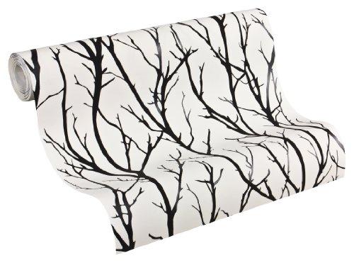 Schner-Wohnen-268341-Papel-pintado-estampado-color-blanco-y-negro