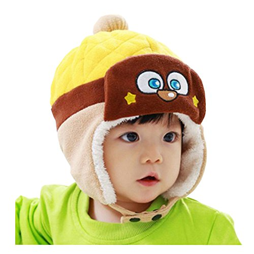 Unique Winter Baby Hat/Cap Useful Durable Cute Tab Woolen Baby Hat Multicolor