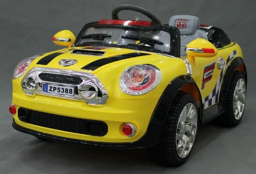 Ride On Toy Mini Cooper Style Car New Power Ride On Toy Electric Car With Mp3 Connection 2 Motors And 2 Battery Remote Control