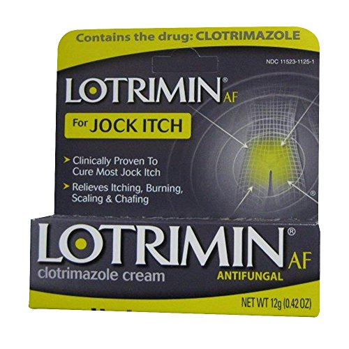 Jock itch treatment cream