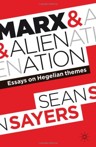 essays on marx alienation Karl marx, in his economic and philosophical manuscripts (1844) unearths his ideas on alienation the marxian understanding of this particular notion can be.