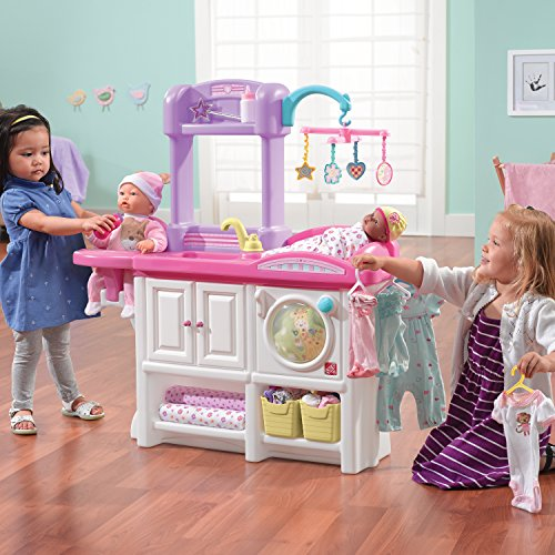 Princess Toys Box Storage Kids Girls Chest Bedroom Clothes: Price-Drop On The Step2 Love And Care Deluxe Nursery Doll