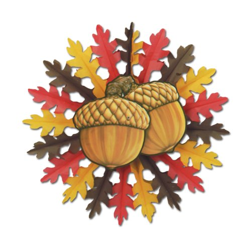 Hanging Acorn Decoration Party Accessory (1 count) (1/Pkg)