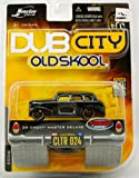 1939 Chevy Master Deluxe - Dub City - Old Skool - Black - 1:64 Scale - Die Cast - Wave 2 - Mint - Limited Edition - Collectible - (PR)