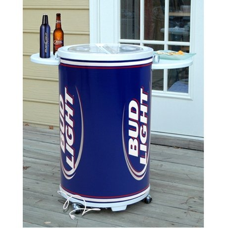 budweiser beer coolers on wheels motorcycle review and. Black Bedroom Furniture Sets. Home Design Ideas