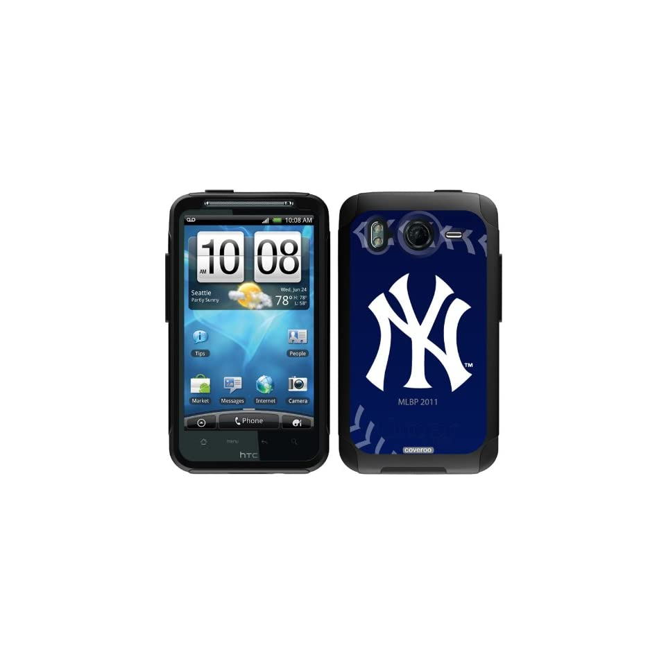 competitive price 7a629 9afcc New York Yankees stitch design on OtterBox® Commuter Series® Case ...