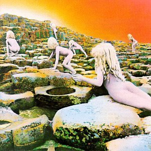 Original album cover of Houses of the Holy by Led Zeppelin