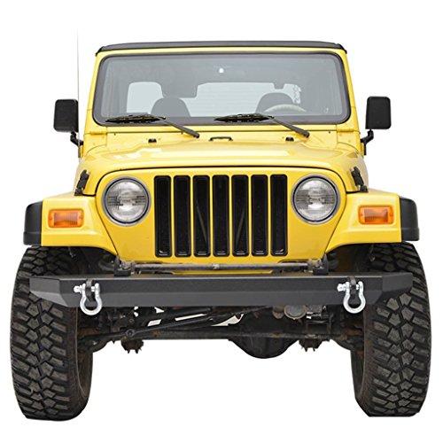 E-Autogrilles Black Front Bumper Jeep TJ YJ