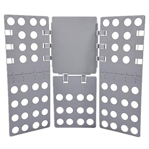 Speedcontrol Clothes Folder for Dress Pants Towels Shirt T-shirt Laundry Folder Board Organizer Adjustable Grey Plastic (Dress Form Xl Adjustable compare prices)