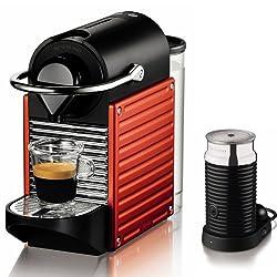 Nespresso AutoType PIXIE (Pixie) bundle set red C60-RE-A3B-I