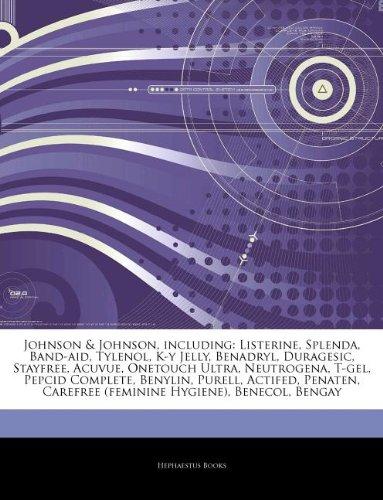articles-on-johnson-johnson-including-listerine-splenda-band-aid-tylenol-k-y-jelly-benadryl-duragesi