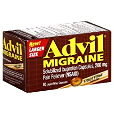 Advil Migraine, 200 mg, Liquid Filled Capsules 80 capsules