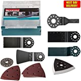 Makita DTM51Z Multi-Tool Accessory Set 17 Piece 802S37-5 For
