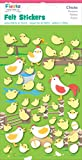 fiesta Crafts Chicks Felt Stickers Pack of 6