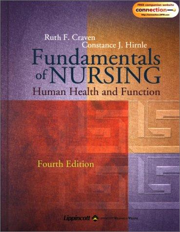 Fundamentals of Nursing: Human Health and Function