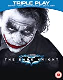 The Dark Knight - Triple Play (Blu-ray + DVD + UV Copy) [2008] [Region Free]