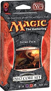 Magic the Gathering: MTG: 2012 Core Set M12 Intro Pack: BLOOD AND FIRE Theme Deck