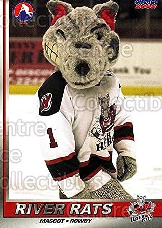 Amazon.com: 2001 Albany River Rats 28 Mascot Mint: Collectibles & Fine