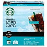 Keurig Starbucks Sweetened Iced Coffee K-cup 16 Ct