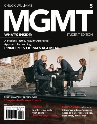 MGMT5 ( Management CourseMate Printed Access