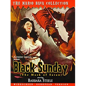 Amazon.com: Black Sunday (aka The Mask of Satan): Barbara Steele ...