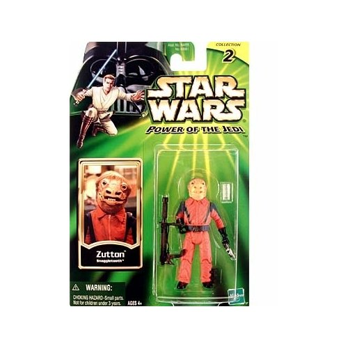 Star Wars 2001 Power of the Jedi - Zutton Snaggletooth