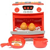 Pretend Play Electronic Toy Stove Oven With Light And Sounds Play Kreative Tm