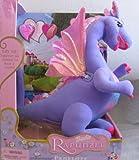 """Barbie Rapunzel Talking PENELOPE Dragon Approx. 13-1/2"""" Tall (2002)"""