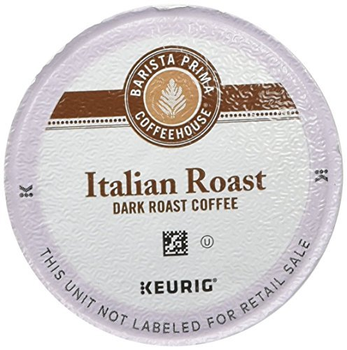 Barista Prima Coffeehouse Dark Roast Extra Bold K-Cup for Keurig Brewers, Italian Roast Coffee (Pack of 48) (Italian Roast K Cups Coffee compare prices)