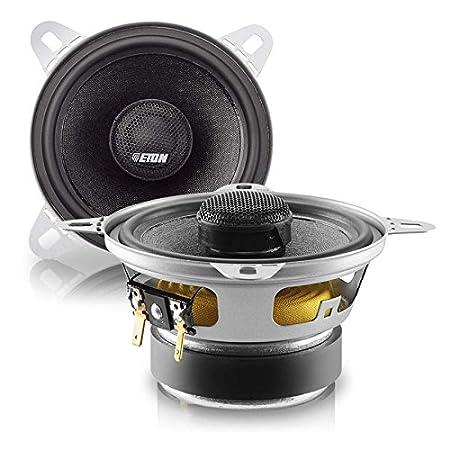ETON auto-fiche coaxiale - 90 w haut-parleur enceintes coaxial - 100 mm pour opel agila a