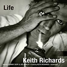 Life Audiobook by Keith Richards, James Fox Narrated by Johnny Depp, Joe Hurley