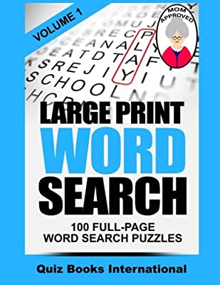 Large Print Word Search Volume 1