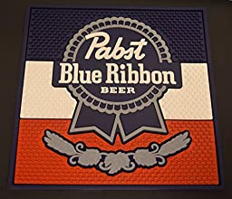 Pabst Blue Ribbon PBR XL Waitstation Professional Series Bar Mat