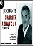 Partition : Je chante Aznavour volume 2