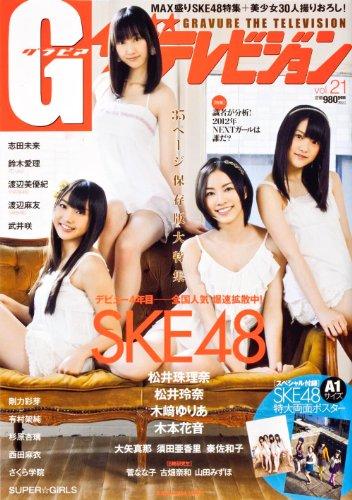 G(グラビア)ザテレビジョン Vol.21 62484‐20 (カドカワムック 416 月刊ザテレビジョン別冊)
