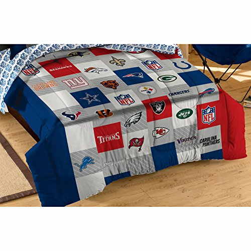 NFL League Twin-Full Comforter Set All Teams Bedding