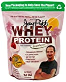 Jay Robb Whey Protein Powder Strawberry -- 12 oz