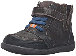 See Kai Run Ian Leather Boot (Toddler/Little Kid), Brown, 9 M US Toddler