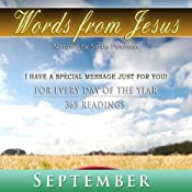 Words from Jesus: September: A Reading for Every Day of the Month | [Simon Peterson]