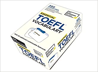 Essential TOEFL Vocabulary (flashcards) (College Test Preparation)