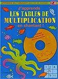 echange, troc Collectif - J'apprends les tables de multiplication en chantant ! 7/8 ans (1CD audio)