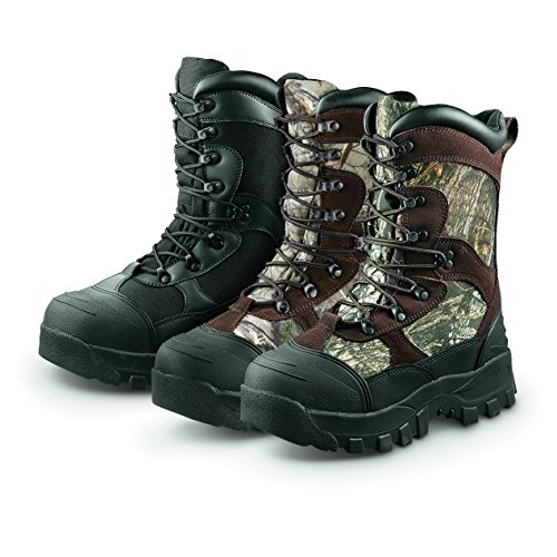 Guide Gear Men's Monolithic Hunting Boots Insulated Waterproof 2400 grams, Mossy Oak, 12D (Hunting Boots For Men Insulated compare prices)