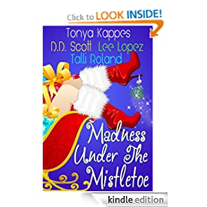 KND Kindle Free Book Alert for Monday, December 26: OVER 180 BRAND NEW FREEBIES in the last 24 hours added to Our 1,700 FREE TITLES Sorted by Category, Date Added, Bestselling or Review Rating! plus … Extend the season with MADNESS UNDER THE MISTLETOE! (Today's Sponsor – $2.99)