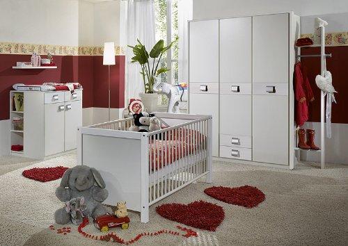 Babyzimmer »EMMAÂ« 6-tlg in alpinweiß günstig bestellen
