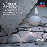 Virtuoso Series: Gorecki Symphony No. 3 by Joanna Kozlowska (2012) Audio CD