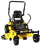 Sale Mower – Stanley 54ZS 24 HP Commercial-Duty Kawasaki V-Twin FR691V Zero Turn Riding Lawn Mower with Roll bar, 54-Inch