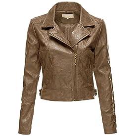 Vintage Womens Motorcycle Jacket