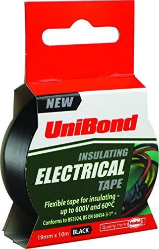 unibond-1400472-insulating-electrical-tape-19-mm-x-10-m-black